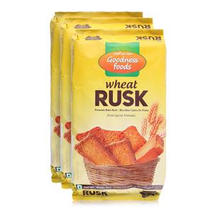 GF Wheat Rusk 3x300g