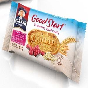 Quaker Good Start Cranberry Biscuits 24g