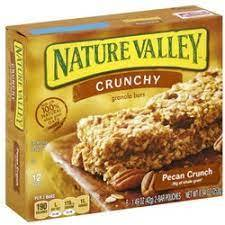 Nature Valley Crunchy Granola Bars Pecan Crunch 252g