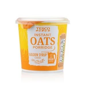 Tesco Instant Oats Golden Syrup Porridge 55g