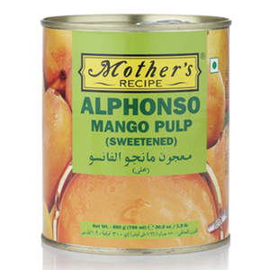 Mother's Recipe Alphonso Mango Pulp 850g