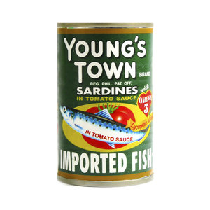 Young's Town Saradines Tomato Sauce 155g