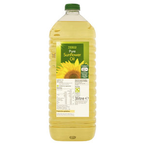 Tesco Pure Sunflower Oil 3L