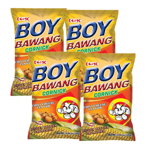 Ksk Boy Bawang Corn Assorted 4x100g