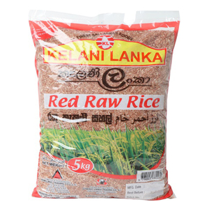 Kelani Lanka Red Raw Rice 5kg