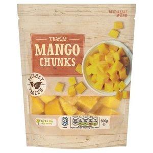 Tesco Mango Chunks 500g