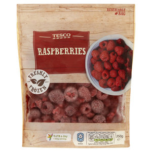 Tesco Raspberries 350g