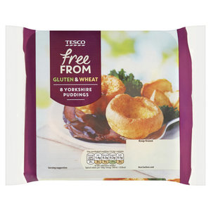 Tesco 8Yorkshire Puddings 124g