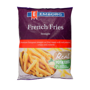 Emborg French Fries Straight Cut 2.5kg