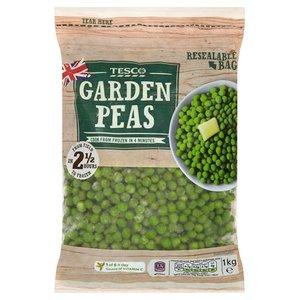 Tesco Garden Peas 1kg
