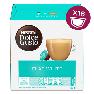 Nescafe Dolce Gusto Flat White Coffee 16capsules