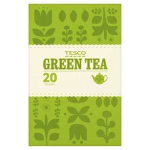 Tesco Green Tea Bags 50g