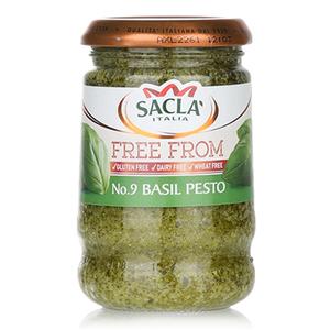Sacla  Free From Basil Pesto 190g