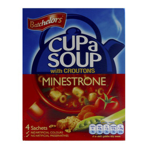 Bat Cas Minestrone With Croutons 94g
