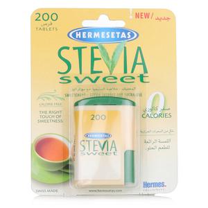 Hermesetas Stevia Sweetener 200tabs