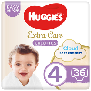 Huggies Ultra Comfort Baby Diapers Size 4 7-18 kg 2x36pcs