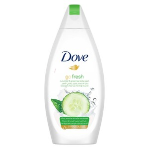 Dove Shower Gel Fresh Touch Cucumber 12x500ml