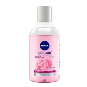 Nivea Micellar Rose Water Makeup Remover All Skin Types 400ml