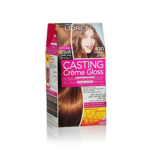 L'Oreal Casting Cream-Gloss Caramel 630 1pack