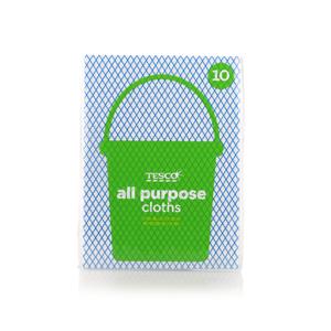 Tesco All Purpose Cloths 10pack