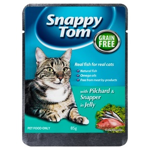 Snappy Tom Pilchards And Red Snapper In 100g