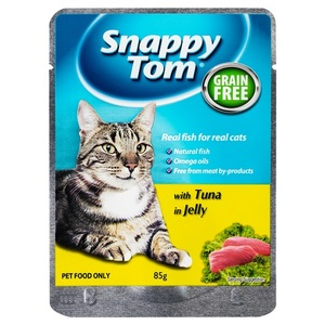 Snappy Tom Pouch With Tuna In Jelly 85g