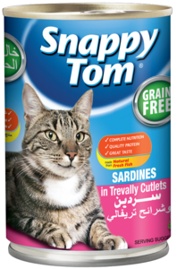 Snappy Tom Sardines With Chicken 400g