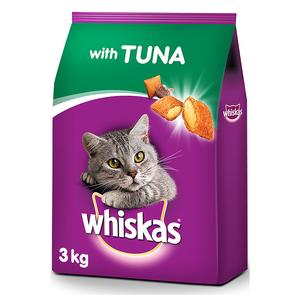 Whiskas Tuna Dry Cat Food Adult 1+ Years 3kg