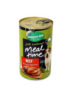 Natures Gift Dog Food Beef Barley Veggie (Can) 700g