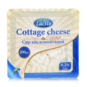 Lactio Cottage Cheese Low Fat 200g