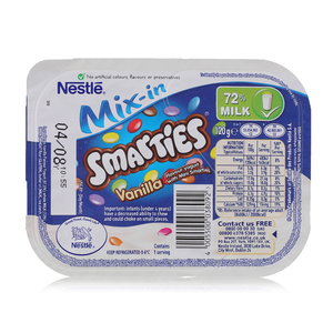 Smarties Vanilla Dessert 120g