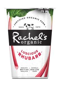 Rachels Luscious Rhubarb Yogurt 450g