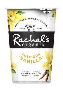 Rachels Luscious Vanilla Yogurt 450g