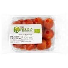 Tesco Tomato Bunch Organic 400g pkt