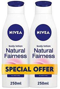 Nivea Body Lotion Natural Fairness 2x250ml