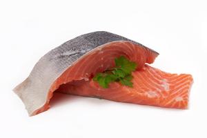 Salmon Fillet Norway Skin On 500g