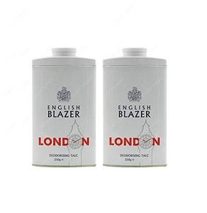 English Blazer Talcum Powder 2x250g
