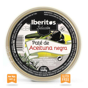 Iberitos Black Olive Pate Tarrine Gluten free 140g
