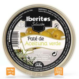 Iberitos Green Olive Pate Tarrine 140g
