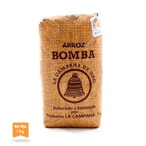 La Campana De Oro Bomba Rice Packet 1Kg