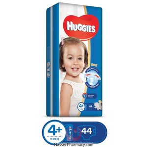 Huggies Ultra Comfort Baby Diapers Large Size 4+ 9-20 kg 2x32pcs