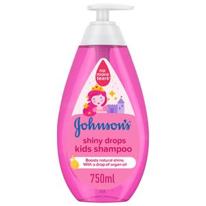 Johnson's Kids Shampoo Shiny Drops 750ml