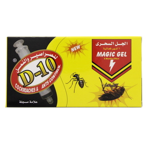 D-10 Cockroaches & Ants Magic Gel 2x30g