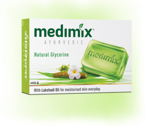 Medimix Ayurvedic Natural Glycerine Bathing Bar 125g
