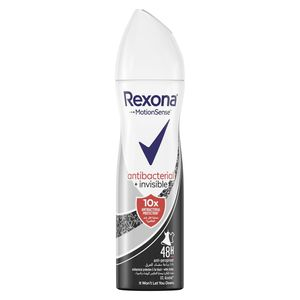 Rexona Women Antiperspirant Deodorant Antibacterial + Invisible 150ml