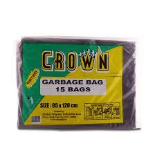 Crown Garbage Bags 15s - 95x120cm