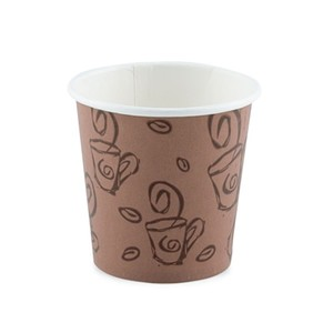 Falcon Paper Cup Brown 2.5oz