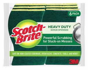3M Scotch Brite Heavy Duty Scrub Spong 1pack