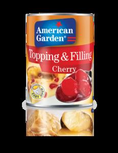 American Garden Cherry Toppings & Fillings 595g