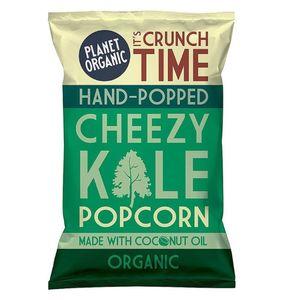 Planet Organic Cheezy Kale Popped Popcorn Vegan Gluten Free 20g
